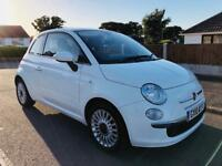 *2010* FIAT 500 LOUNGE 1.2 PETROL MANUAL 70,000 MILES + LONG MOT