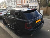 Range Rover sport supercharger replica