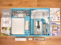 Nintendo Wii Console & Some Games, Wii Motion Plus (incl Silicon Cover) - Bundle