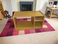 Bedside/media cabinet - wood effect