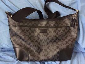 Coach men's shoulder bag - Brand New