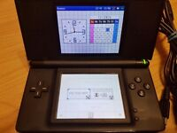 Nintendo DS Lite Black with 7 Top Games