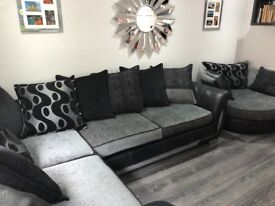 DFS Large Corner Group and Cuddle Chair