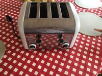 Breville kettle, breville toaster, cup and kitchen roll holder