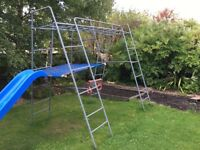 TP climbing frame and slide