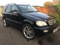 MERCEDES ML 270.CDI 4X4 STRONG CAR. SEMI-AUTO. BLACK METAL