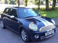 MINI COOPER 1.6 DIESEL START/STOP,HPI CLEAR,2 OWNER,2KEY,CRUISE,LEATHER,£20 ROAD TAX,A/C,CHILI PACK
