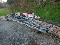 SBS Galvanised Boat Trailer R2 1800B. Purchased five years ago . Used only TWICE. 5 years old.