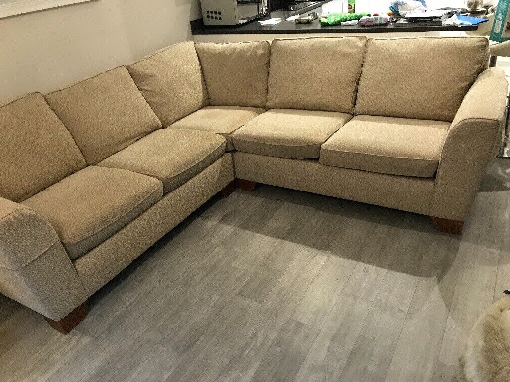 M Amp S Cream Corner Sofa And Large Armchair Only A Few