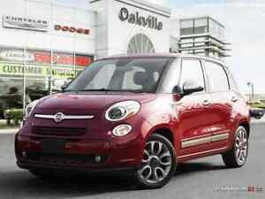 2015 FIAT 500L LOUNGE | SUNROOF | NAVI | HEATED LEATHER | BACK U