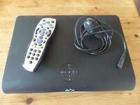 Sky+ HD box, with power lead and remote.