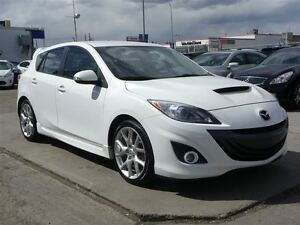 2010 Mazda Mazdaspeed3 TURBO|GPS|MANUAL|LEATHER|NEW TIRES