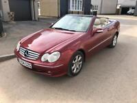 2005 Mercedes CLK 200 elegance cabriolet / convertible swap 4x4