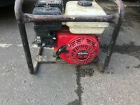 Honda Petrol Generator 240V, 110V Great Condition