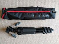 Calumet 7300 Three Way Tripod, with Manfrotto Carry Bag (2 identical items available)
