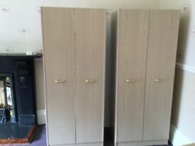 2 wardrobes, will sell separately