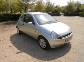 Ford Ka Style Climate Cloth 3dr (silver) 2007