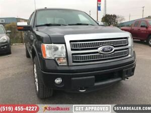 2012 Ford F-150 Platinum | LEATHER | NAV | ROOF | ECO | CAM