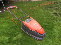 Flymo electric hover lawnmower