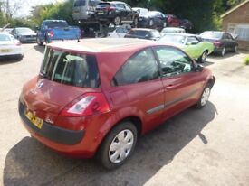 RENAULT MEGANE - GL05FMP - DIRECT FROM INS CO