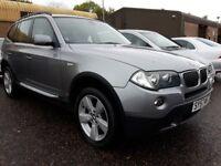 2007 BMW X3 2.0d se DIESEL FACELIFT,,,NEW MOT