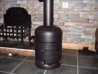 woodburner ideal garden /patio garage /shed