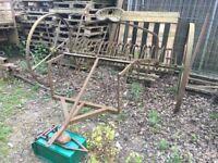 Nicholson Horse/Tractor Rake