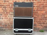 Vox AC30 C2X Custom (2x12 Combo) AC30 Valve with flight case