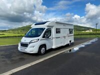 2019 BAILEY ADVANCE 70-6 6 BERTH MOTORHOME WITH ONLY 4K MILES ANDERSON MOTORHOME SALES