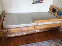 Kids IKEA bed