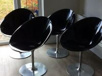 Ero/s Kartell Chair designed by Philippe Starck x4