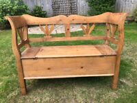 Antique Pine Bench for sale