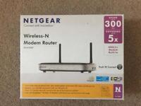 NETGEAR Wireless-N Modem Router
