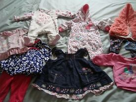 BABY CLOTHES BUNDLE (0-3 MTHS) - GIRLS