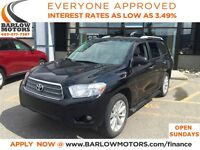 2008 Toyota Highlander Hybrid Limited Leather/AWD/AUTO/2 sets of