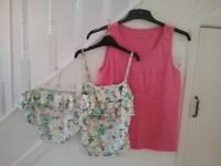 Kids Tankini and Sun Top, from