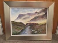 Painting of Glen Coe