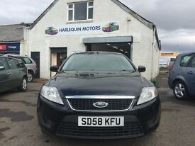 2008 FORD MONDEO EDGE 2.0L TDCI 140,IMMACULATE CONDITION,YEAR MOT,FULL SERVICE,WARRANTY,MUST BE SEEN