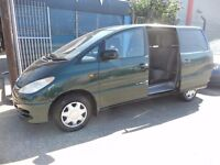 (8 SEATER)TOYOTA PREVIA MPV (DIESEL) (2001)FULL M.O.T.ON SALE ..........