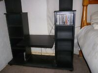 CD STORAGE AND ENTERTAINMENT UNIT