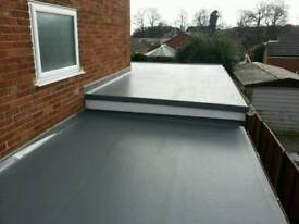 EPDM rubber flat roof from £60sqm
