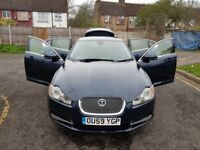 2010 Jaguar XF 3.0 TD V6 Luxury 4dr Auto @07445775115 3 Months Warranty Included