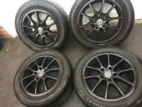 """16"""" 5x112 Volkswagen Skoda Audi Alloy Wheels"""