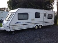 Sterling Elite Trekker 2001 Twin Axle 4 Berth. Caravan.