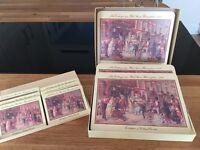 8 x Cadbury Retro Place Mats and matching Coasters