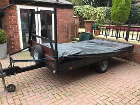 10x 5ft flat bed trailer