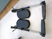 Wheelchair Elevating Leg Rest / Support Foot Plates
