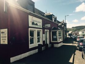 Experienced CDP & Commis required at Fiddlers', Brodick, Isle of Arran