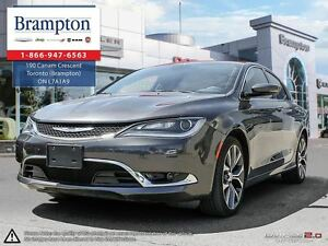 2016 Chrysler 200 C | PANORAMIC ROOF | LEATHER | BLUETOOTH |