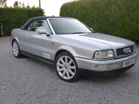 Audi Cabriolet V6 2.6 1999 Lovely Condition Grab a Modern Classic